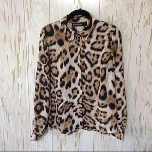 INC International Concepts Animal Print Top 8